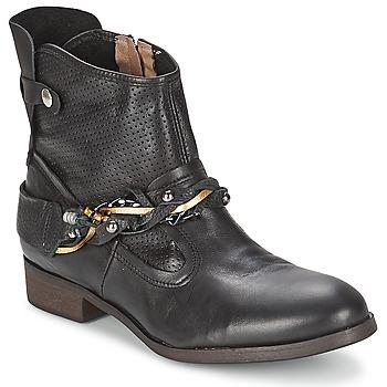Chaussures Femme Boots Regard SOFAXO Noir