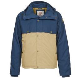 Vêtements Homme Parkas Franklin & Marshall JKMVA034 Bleu / Beige