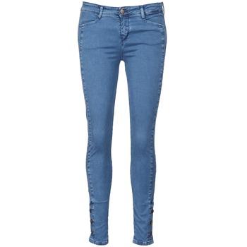 Vêtements Femme Jeans slim Acquaverde ALFIE Bleu clair