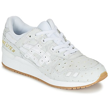 Chaussures Air max tnFemme Baskets basses Asics GEL-LYTE III PACK SAINT VALENTIN W Blanc / Or