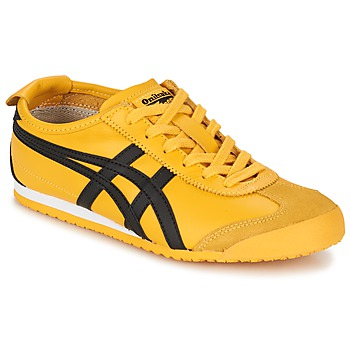 Chaussures Air max tnBaskets basses Onitsuka Tiger MEXICO 66 Jaune / Noir