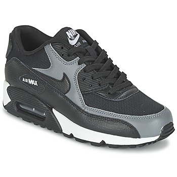 Chaussures Femme Baskets basses Nike AIR MAX 90 W Noir / Gris