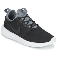 Chaussures Femme Baskets basses Nike ROSHE TWO SE W Noir / Gris