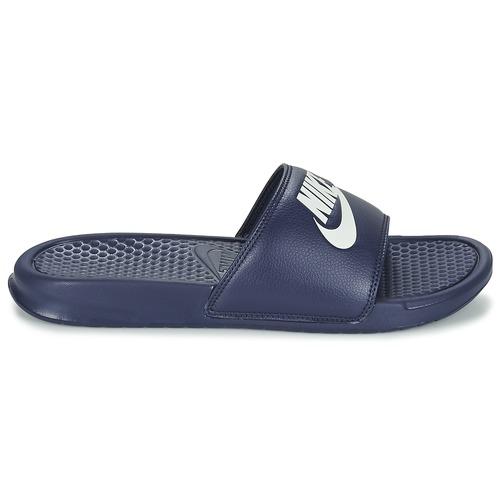Nike BENASSI JDI Bleu / Blanc