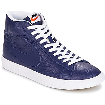 Chaussures Homme Baskets montantes Nike BLAZER MID Bleu