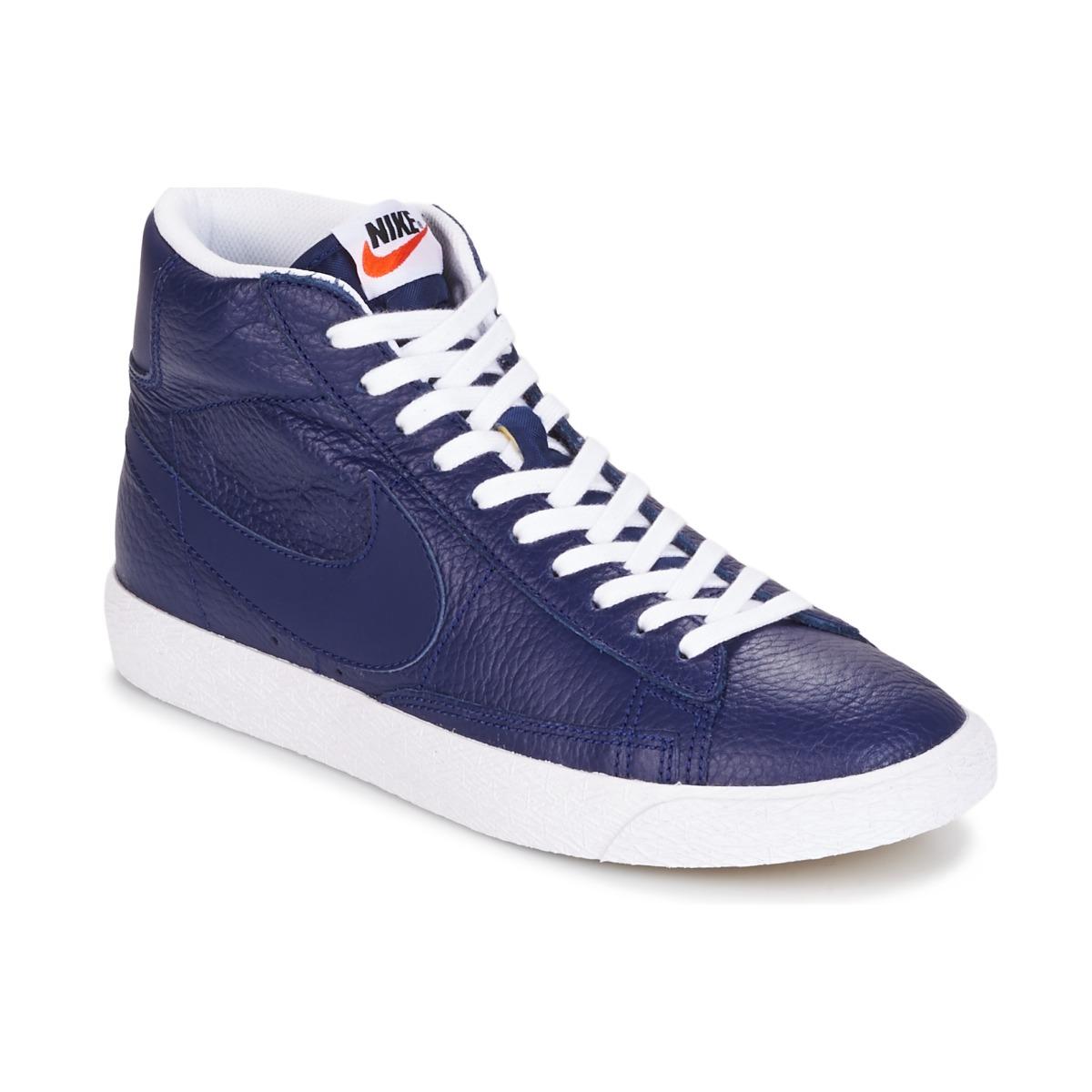 nike blazer mid bleu chaussure pas cher avec chaussures basket montante homme 99 99. Black Bedroom Furniture Sets. Home Design Ideas