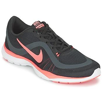 Chaussures Femme Fitness / Training Nike FLEX TRAINER 6 W Noir / Rose