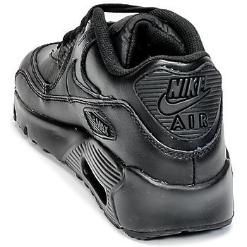 Nike AIR MAX 90 LEATHER GRADE SCHOOL Noir
