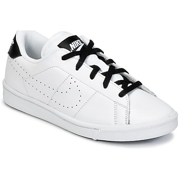 Chaussures Garçon Baskets basses Nike TENNIS CLASSIC PREMIUM PRESCHOOL Blanc / Noir