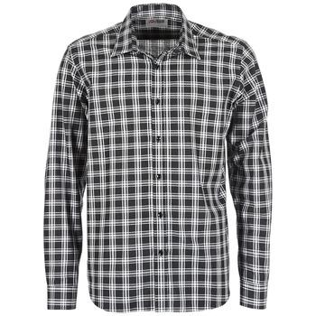 Vêtements Homme Chemises manches longues Yurban FLENOTE Noir / Blanc