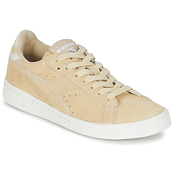 Chaussures Air max tnFemme Baskets basses Diadora GAME LOW SUEDE Beige