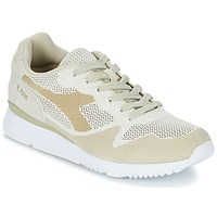 Chaussures Air max tnHomme Baskets basses Diadora V7000 WEAVE Beige
