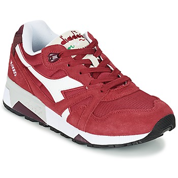 Chaussures Air max tnBaskets basses Diadora N9000 III Rouge