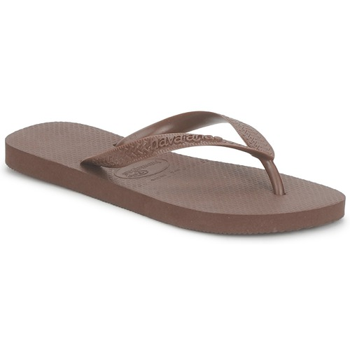 Chaussures Tongs Havaianas TOP Marron