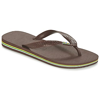 Chaussures Tongs Havaianas BRASIL Marron