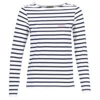 Vêtements Femme Tops / Blouses Betty London FLIGEME Blanc / Bleu