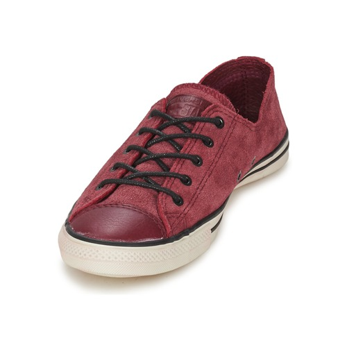 Converse Chuck Taylor All Star FANCY LEATHER OX Bordeaux n59L6P44uG