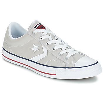 Converse STAR PLAYER  OX Gris Clair / Blanc