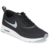 Chaussures Femme Baskets basses Nike AIR MAX THEA Noir / Wolf Grey-Anthracite-Blanc