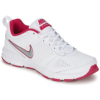 Chaussures Femme Multisport Nike T-LITE XI Blanc / Rose