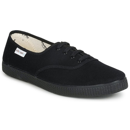 Chaussures Baskets basses Victoria INGLESA LONA PISO Noir