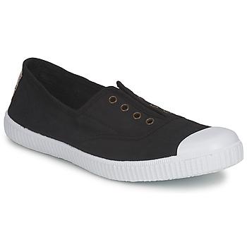 Chaussures Femme Baskets basses Victoria 6623 noir