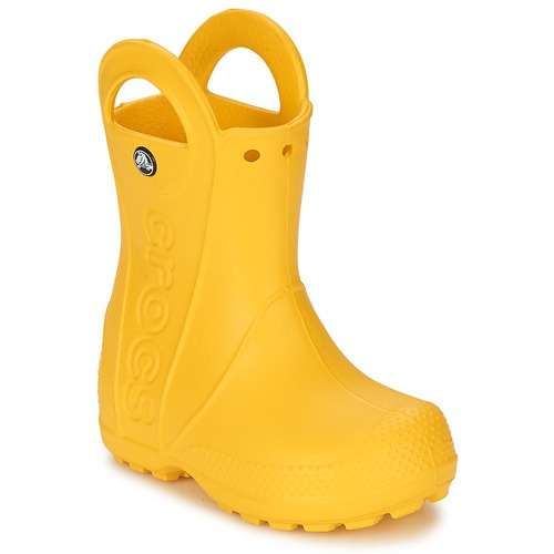 cc5a02716c2 Crocs HANDLE IT RAIN BOOT KIDS Jaune - Chaussure pas cher avec Shoes ...