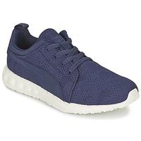 Chaussures Air max tnHomme Running / trail Puma CARSON RUNNER CAMO MESH EEA Bleu