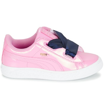 Baskets basses enfant Puma BASKET HEART PATENT PS