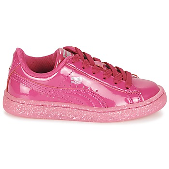 Chaussures Enfant puma basket patent iced glitter ps