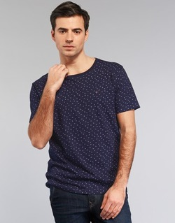 Vêtements Homme T-shirts manches courtes Tommy Jeans GRONTON Marine