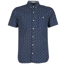 Vêtements Homme Chemises manches courtes Hilfiger Denim TIDURES Marine
