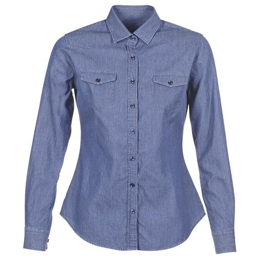 Vêtements Femme Chemises / Chemisiers Yurban FERVINE Bleu