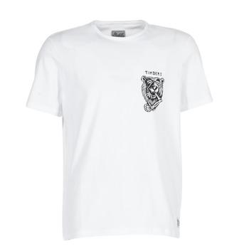 Vêtements Homme T-shirts manches courtes Element ATTACK SS Blanc