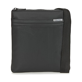 Sacs Homme Pochettes / Sacoches Calvin Klein Jeans GREGORY FLAT CROSSOVER Noir