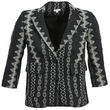 Vêtements Femme Vestes / Blazers Manoush TAILLEUR Gris / Noir