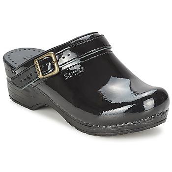 Chaussures Femme Sabots Sanita FREYA Noir