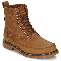 Chaussures Homme Boots Timberland 6IN MIXED MEDIA WP Roux huilé