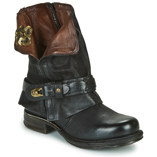 Chaussures Femme Boots Airstep / A.S.98 SAINT BIKE Noir