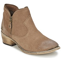 Chaussures Femme Boots Le Temps des Cerises GRACE Sable