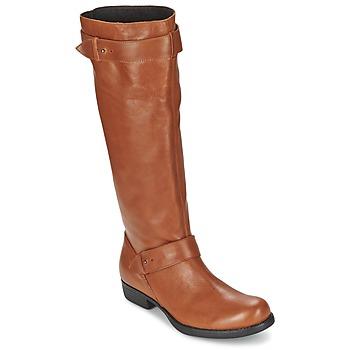 Chaussures Femme Bottes ville One Step IANNI Caramel