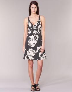 Vêtements Femme Robes courtes Patagonia AMBER Noir / Blanc