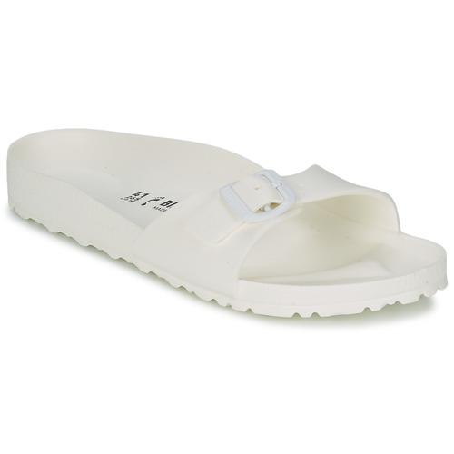 Chaussures Femme Mules Birkenstock MADRID EVA Blanc