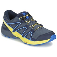 Chaussures Air max tnEnfant Multisport Salomon SPEEDCROSS J Bleu / Jaune