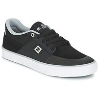 Chaussures Air max tnHomme Baskets basses DC Shoes WES KREMER M SHOE XKSW Noir / Gris / Blanc