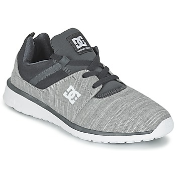 Chaussures Homme Baskets basses DC Shoes HEATHROW SE M SHOE GRH Gris