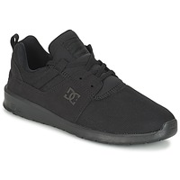 Chaussures Homme Baskets basses DC Shoes HEATHROW M SHOE 3BK Noir