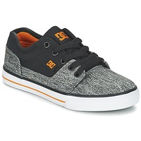 Chaussures Garçon Baskets basses DC Shoes TONIK TX SE B SHOE BGY Noir / Gris / Orange