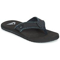 Chaussures Homme Tongs Quiksilver MONKEY ABYSS M SNDL XKKC Noir
