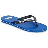 Chaussures Homme Tongs Quiksilver MOLOKAI Noir / Bleu / Blanc